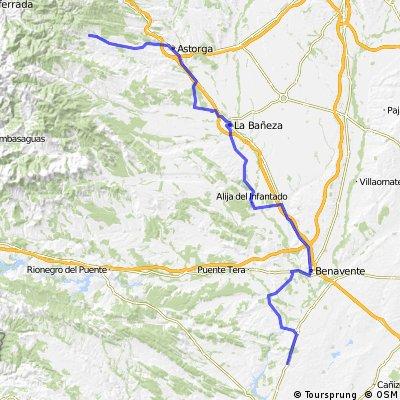 Granja de Moruela - Rabanal del Camino