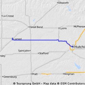 C2C Day 51: Larned to Hutchinson, KS