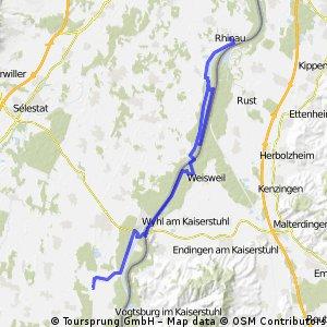 Rhinau - canal du Colmar (Rhin)