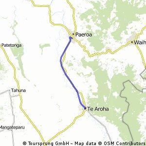 Hauraki Rail Trail - Paeroa to Te Aroha