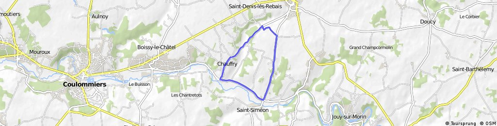 Course DEP Chauffry