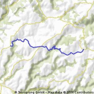 Cycling the Alps Côte de Quotidiane (0511m)