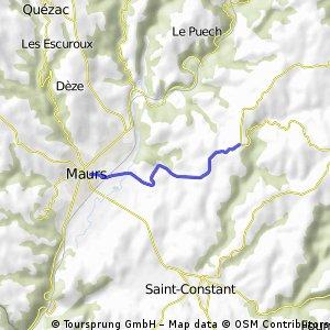 Cycling the Alps Côte de Blanquie (0431m)