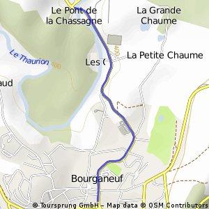 Cycling the Alps Côte de Bourganeuf (0444m)