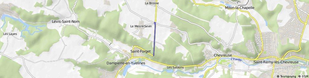 Cycling the Alps Côte des 17 Tournants (0167m)