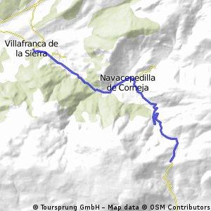 CHÍA, por Villafranca de la Sierra