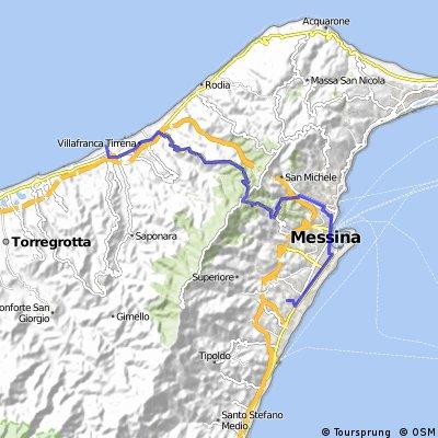 Minissale - Via Palermo - Portella Rizzo - Gesso - Rometta Marea