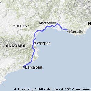 Etappe 03 Tour de France 2009 von Marseille nach La Grande-Motte CLONED FROM ROUTE 102617
