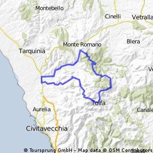 Tarquinia Monte Romano campagna
