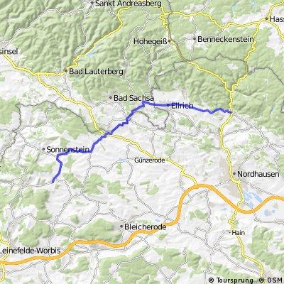 Bischofferode - Ilfeld