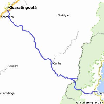 Rota Guaratinguetá - Cunha