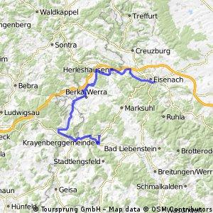Eisenach > Merkers-Kieselbach
