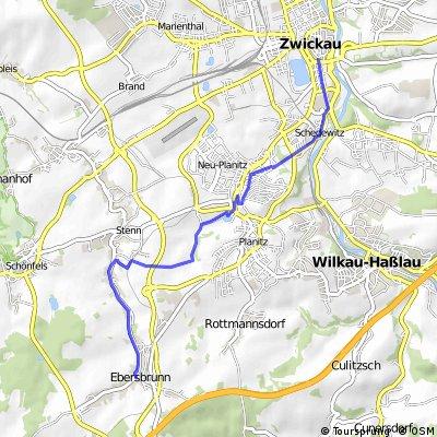 Zwickau - Waldhaus Ebersbrunn