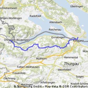 Konstanz-Stein am Rhein über den Seerücken