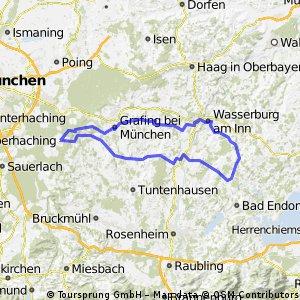 Oberpframmern-Wasserburg-Amerang-Oberpframmern
