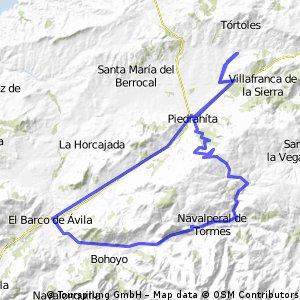 Bonilla - Barco - Peña Negra - Bonilla