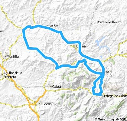 Priego-Montes de Luque-Baena-Espejo-Nueva Carteya-Doña Mencia-Luque-Zagrilla-Priego