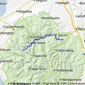 Day 8: Wreay to Buttermere via Newlands Pass