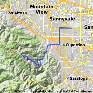 Sunnyvale - Montebello Rd.