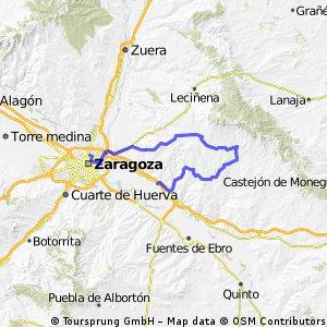 Zgz - Villamayor - Farlete - Alfajarín