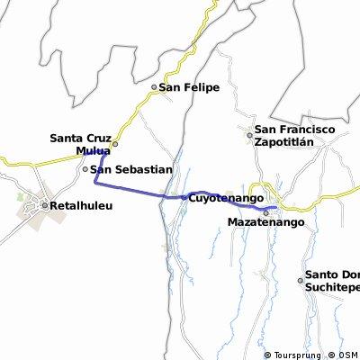 De San Se a Mazatenango