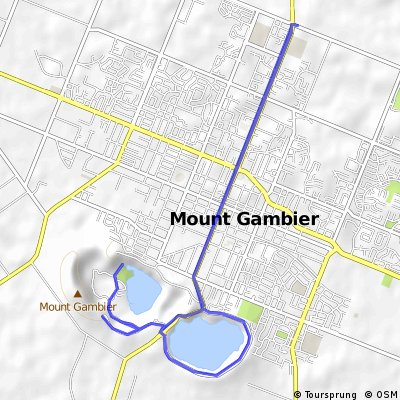 Mt Gambier Crater Cycle