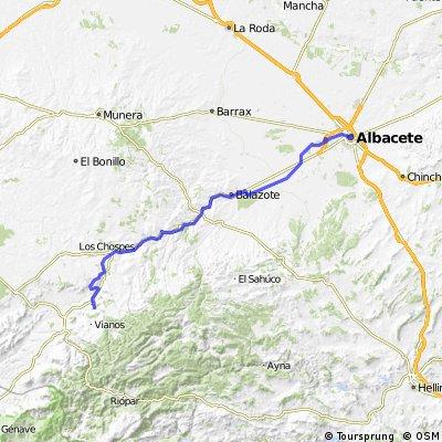 Via verde Alcaraz_Albacete