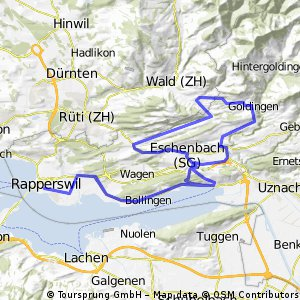 Option 1: Ironman 70.3 Rapperswil   CLONED FROM ROUTE 965024