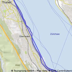 See entlang (thalwil - horgen - thalwil)