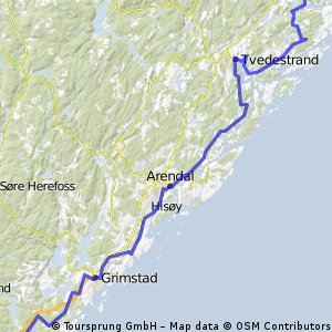 Cycling routes and bike maps in and around Risr Bikemap Your