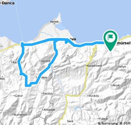 KMursel-Ilyaskoy-58 km