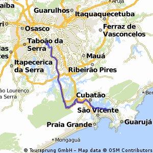 Estrada da Manutenção Lokobikers (Santos)