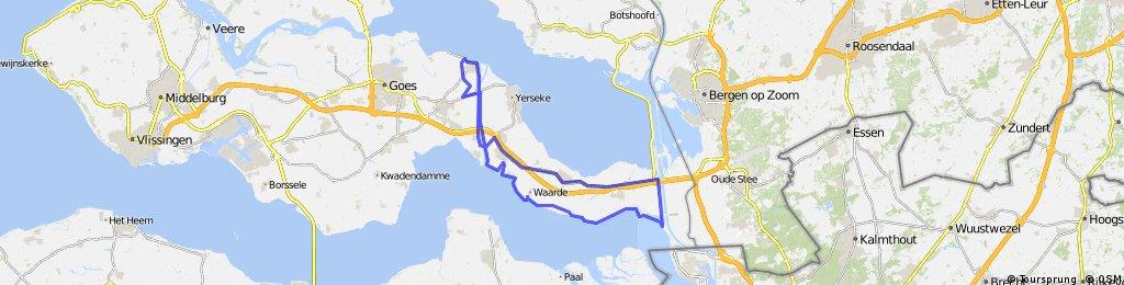 Rondje Bath - 64km