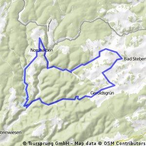 Rundtour von Bad Steben zur Ködeltalsperre
