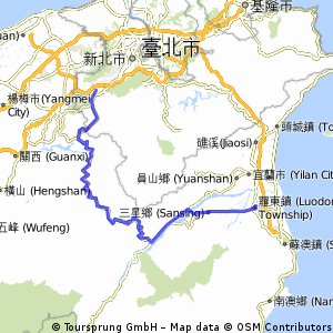 Northern Taiwan Cross-Island Highway (SanShia-LouDong)