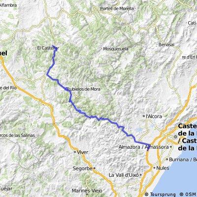 Betxi-Alcalá de la Selva (por Olva)