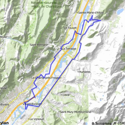 17 mars 2012 - morestel -depuis fin piste