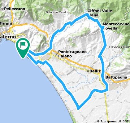 Giro per Montecorvino Rovella