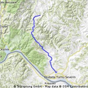 Bike in Action ziua 4 (Jupanesti-Ciresu-Bunoaica-Jidostita- Tr Severin)