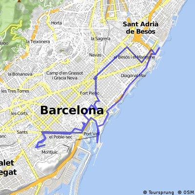 Rundtour Barcelona