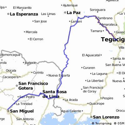 Tegucigalpa - San Miguel