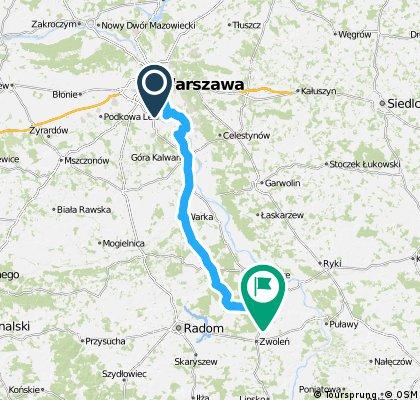 Warszawa - Garbatka-Letnisko