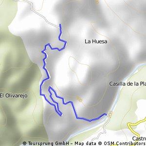 SAN BERNARDO, por el río Guadiato