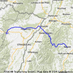 Tour de Nagold -> Saverne 2009