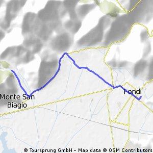 05: Fondi - San Magno, via Rene, via Carro (San Vito)