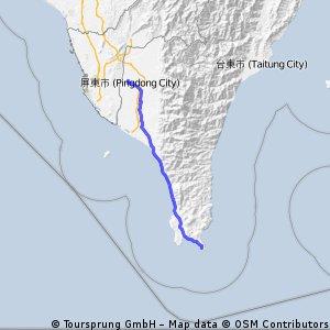 挑戰墾丁110km