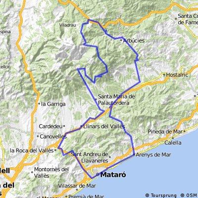 M-M-M ( Mataró, Montseny, Mataró )
