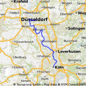 CYCLING THE RHINE: Route R11A