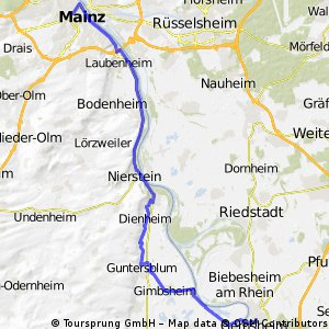 CYCLING THE RHINE: Route R06A
