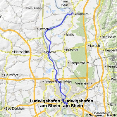 CYCLING THE RHINE: Route R05A